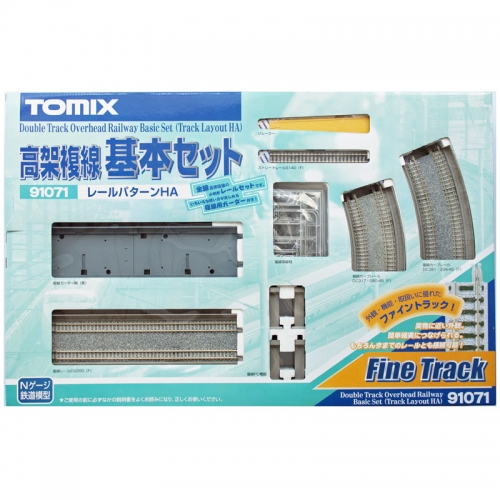 [TOMIX] 91071 Double Track Overland Railway Basic Set (Track Layout HA)트레인몰
