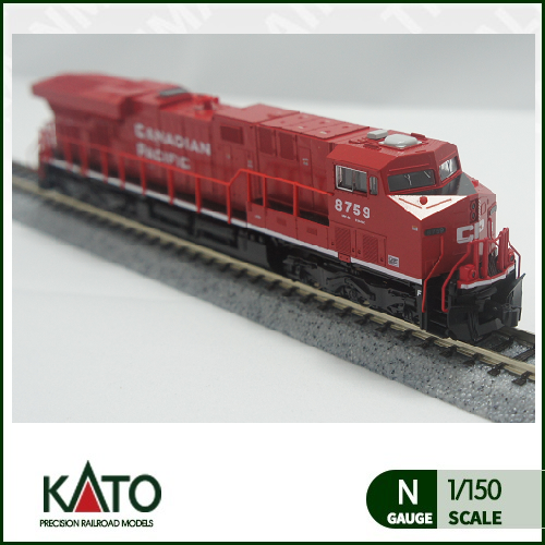 [KATO] 176-8921 GE ES44AC CP (Canadian Pacific) (Red/White 8759호기)트레인몰