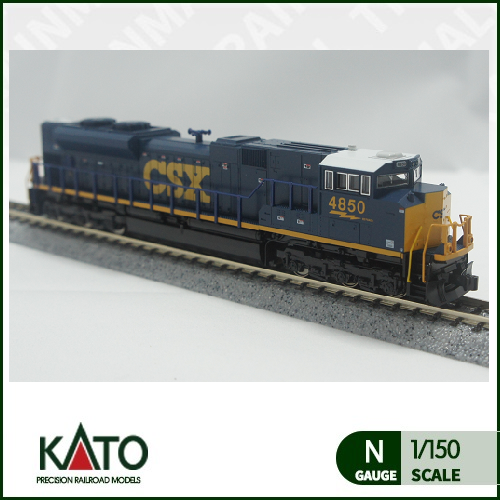 [KATO] 176-8437 EMD SD70ACe 디젤기관차 CSX Dark Future 4850호트레인몰