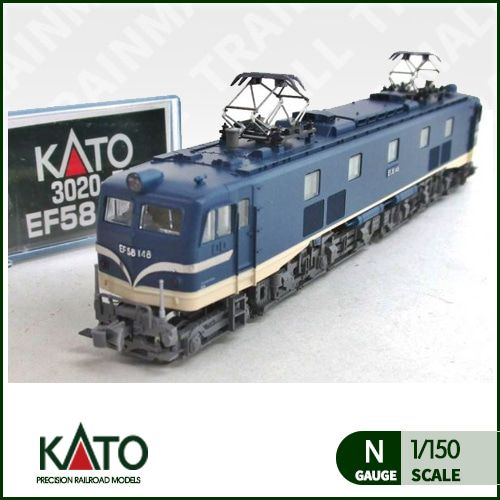 [KATO] 3020-7 Electric Locomotive Type EF58 (early version)트레인몰